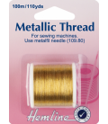 Metallic sytråd