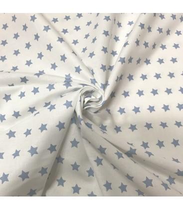 Bomull stjerner/ hvit bakgrunn