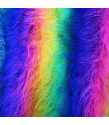 Langhåret regnbue