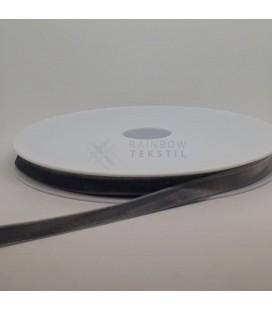 Fløyelsbånd med stretch (9mm)