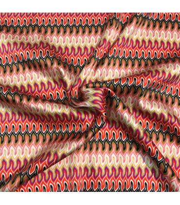 Mønstret Silke Sateng, Italiensk
