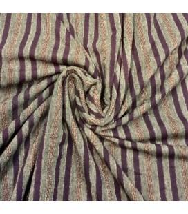 Viskose Jersey Stripet Lurex