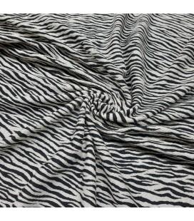 Zebra Bomullsjersey