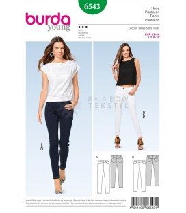 Burda Jeansmønster 6543