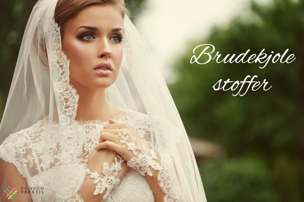 Brudekjolestoffer